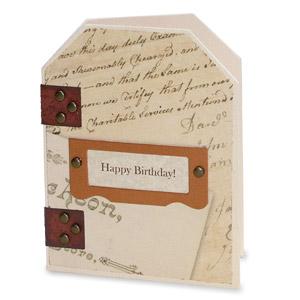 Happy Birthday Gift Tag Card