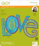 AccuQuilt GO Dies - Love by Sarah Vedeler