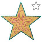 AccuQuilt GO Dies - 5 Point Star by Sarah Vedeler