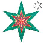 AccuQuilt Go Dies - 6 Point Star by Sarah Vedeler