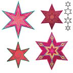 AccuQuilt Go Dies - 6 Point Star Medley by Sarah Vedeler