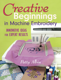 C&T Book - Creative Beginnings in Machine Embroidery