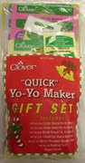 Clover Quick Yo Yo Maker Gift Set - Value Bundle