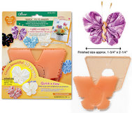 "Clover Quick Yo Yo Maker Butterfly Large 1.75""x 2.25"