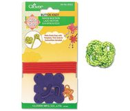 Clover Asian Knot Templates Button