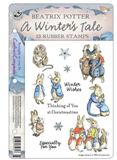 Beatrix Potter EZ Mount Stamps Set - A Winter's Tale