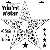 Crafter's Workshop 6x6 Template - Mini Star