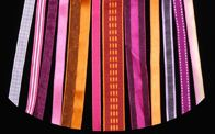 "12"" Ribbons - Pink, Purple & Orange"