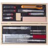 Excel Wooden Box Deluxe Knife Tool Kit