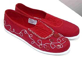 Grandma's Ruby Slippers
