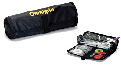 Omnigrid Black Roll Tool Case -1 Compartment