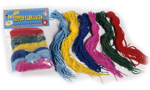 Pepperell Tipped Yarn Laces - 36""
