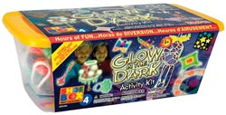 Pepperell Shoebox Activity Kit - Glow in the Dark