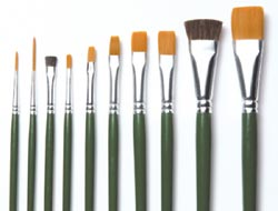Plaid - One Stroke 10 Piece Brush Set Value Pack
