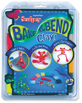 Sculpey Bake & Bend Super Flex 8 Color