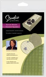 Studio By Sculpey Texture Makers  - Country Squares