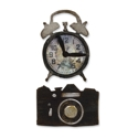 Sizzix - Movers & Shapers - Tim Holtz Dies - 2PK - Mini Vintage Alarm Clock & Camera Set