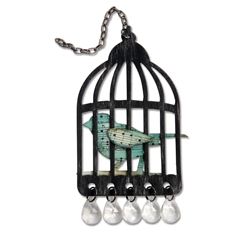 Sizzix - Bigz Dies - Tim Holtz - Caged Bird
