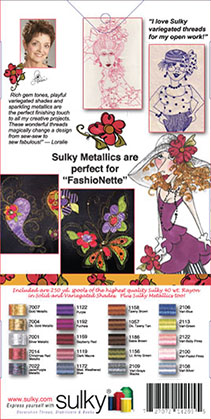 Sulky Assortment - Loralie's Ideal for FashioNette
