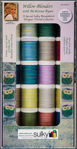 sulky Assortment - McKenna Ryan's Willow Blenders 30w Blendables