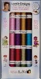 Sulky Assortment - Loralie's Fun Art for Embroidery 20-spool 40wt Rayon