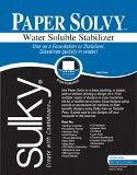 "Sulky Paper Solvy Package 8.5""x 11"" 12 pc"