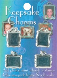 Keepsake Jewelry Charms 4/pkg