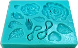 Sweetbrier Molds Push Molds - A Rose for You