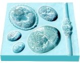 Sweetbrier Molds Push Molds - Cameos & Ring