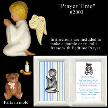 Sweetbrier Molds Push Molds - Prayer Time