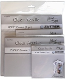 Zutter Bind-it-All Covers - Clear Acrylic Covers (6 pkg)